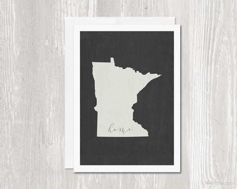 Minnesota Home Greeting Card