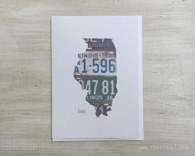 Illinois Home Greeting Card