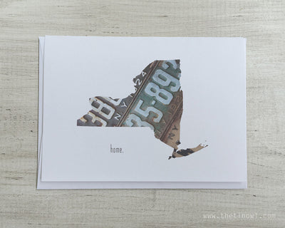 New York Home Greeting Card