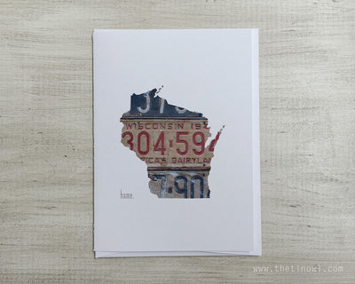 Wisconsin Home Greeting Card