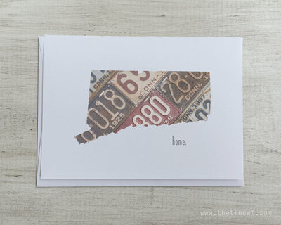Connecticut Home Greeting Card