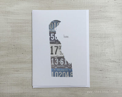 Delaware Home Greeting Card