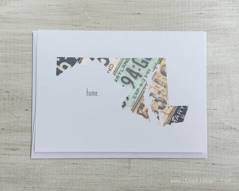 Maryland Home Greeting Card
