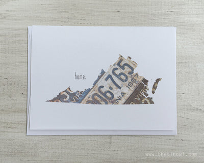 Virginia Home Greeting Card
