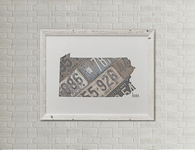 Pennsylvania Home Print