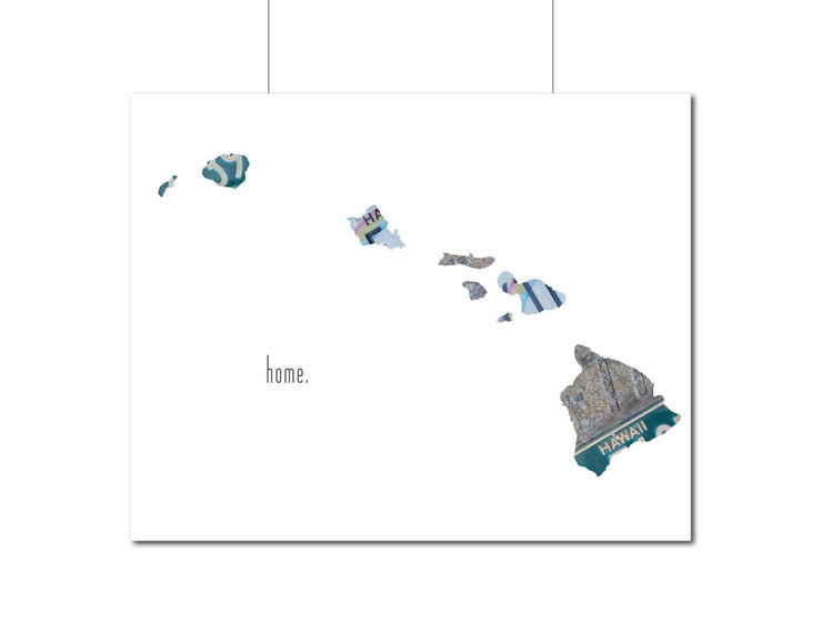 Hawaii Home Print