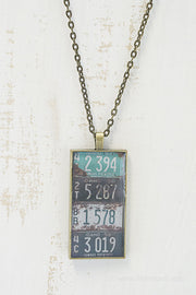 Idaho License Plates Necklace