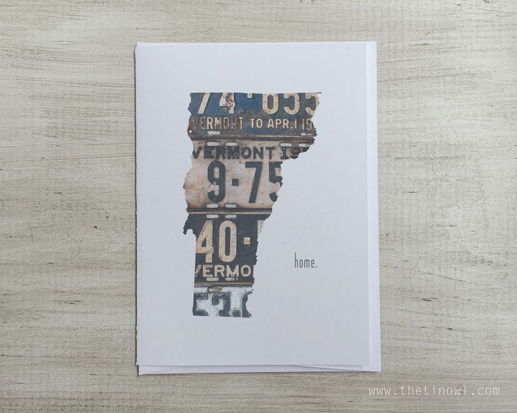 Vermont Home Greeting Card