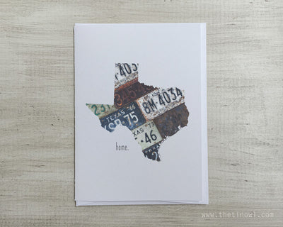 Texas Home Greeting Card