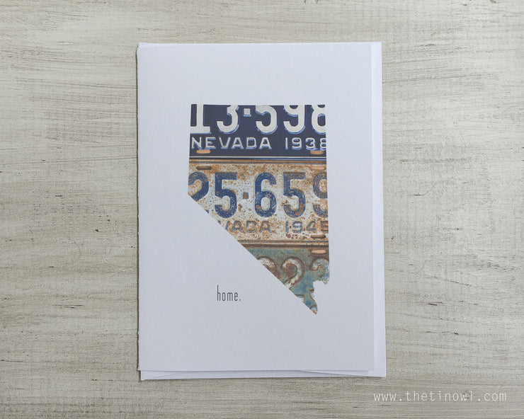 Nevada Home Greeting Card