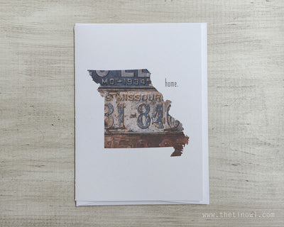 Missouri Home Greeting Card