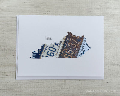 Kentucky Home Greeting Card