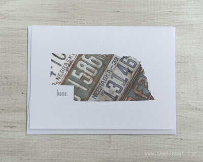 Nebraska Home Greeting Card