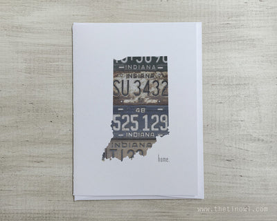 Indiana Home Greeting Card