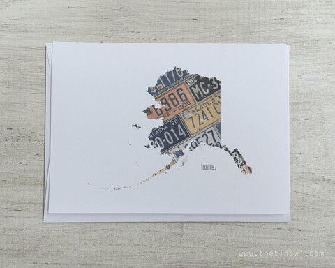 Alaska Home Greeting Card