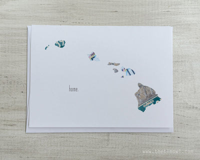 Hawaii Home Greeting Card