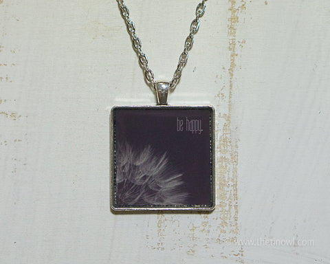 Necklace - Be Happy Dandelion