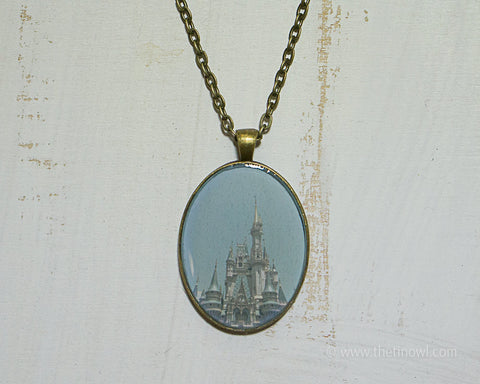 Necklace - Cinderella's Castle