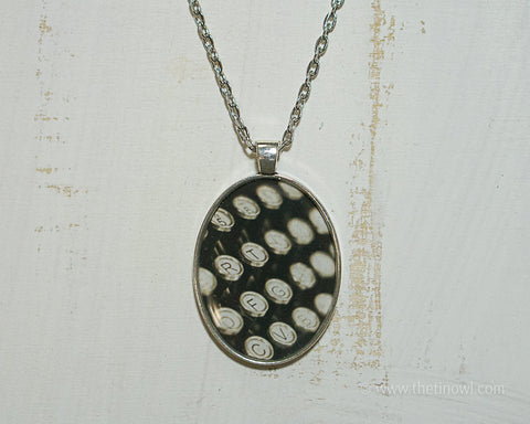 Necklace - Vintage Typewriter