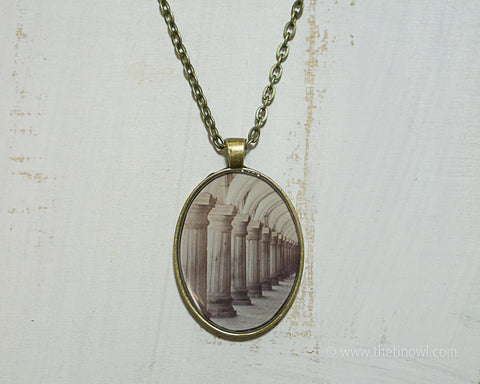 Antigua Columns Necklace