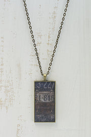 Missouri License Plates Necklace