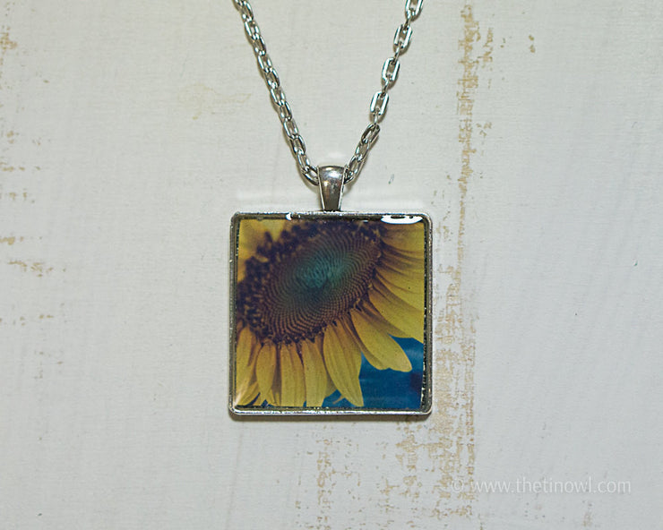 Necklace - Sunflower