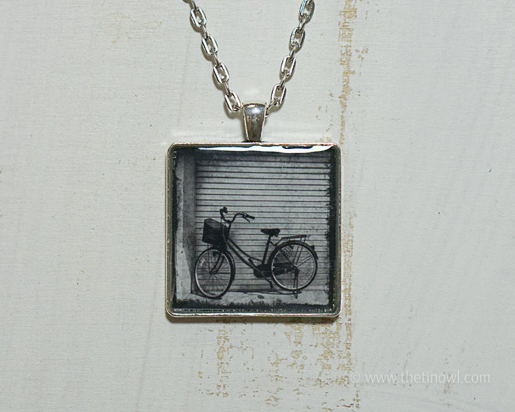 Necklace - Vintage Bike