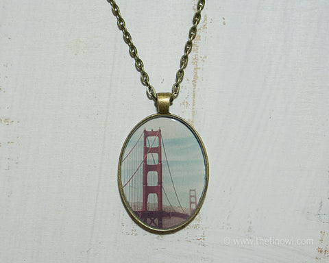 Necklace - Golden Gate Bridge