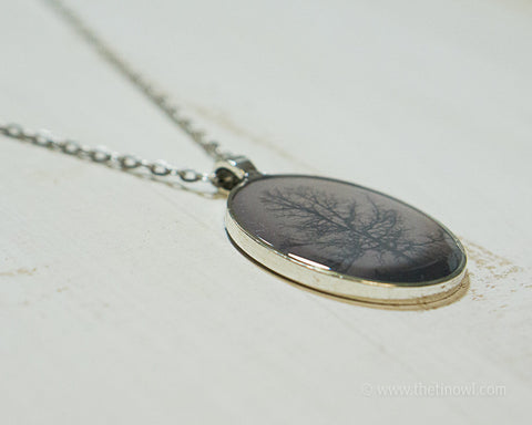 Necklace - Tree Silhouette