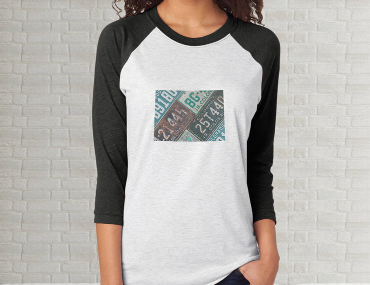 Colorado Raglan T-Shirt | Adult Unisex Tee Shirt
