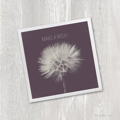 Magnet | Make a Wish Dandelion