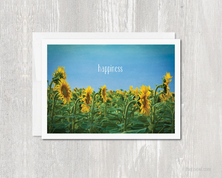 Greeting Card - Happiness