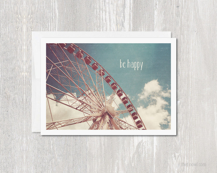Greeting Card Be Happy