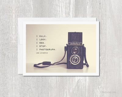 Greeting Card - Photographer