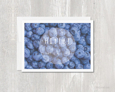 Greeting Card - Hi!