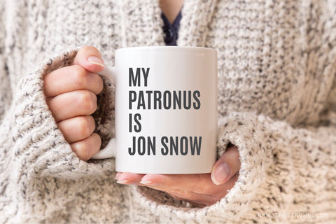My Patronus Is Jon Snow | Coffee Mug 11 oz