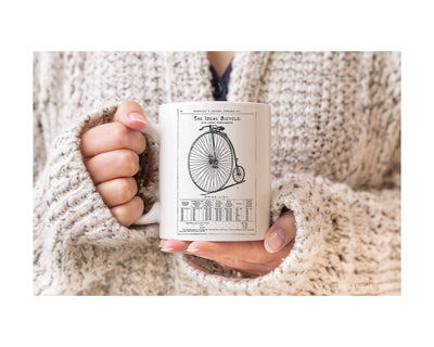 Coffee Mug - Vintage Bicycle Advertisement