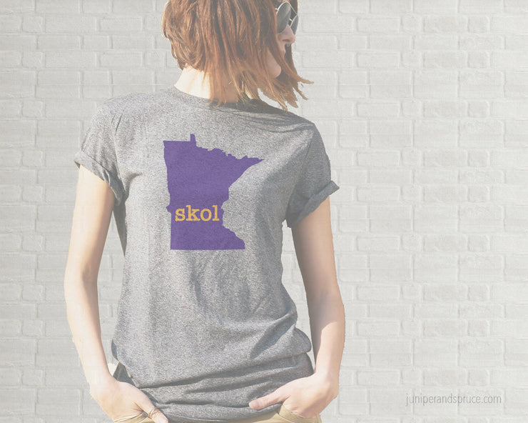 Adult T-Shirt - Minnesota Skol Vikings