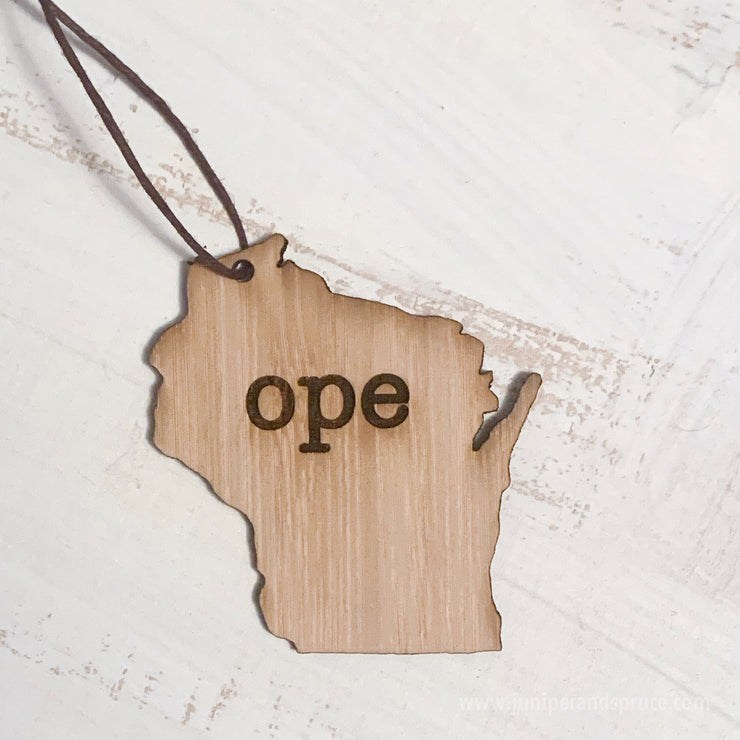 Ornament - Wisconsin Outline
