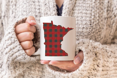 Coffee Mug - Minnesota Buffalo Plaid
