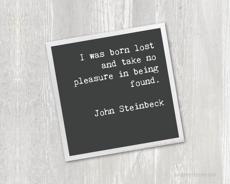 Magnet - John Steinbeck Quote
