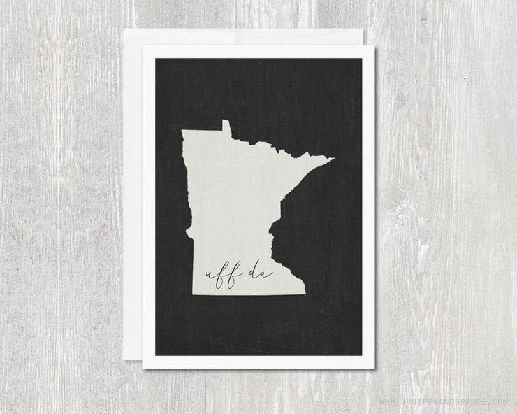 Greeting Card - Minnesota Uff Da