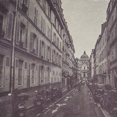 Paris Photography | The Streets of Paris Black & White Photograph