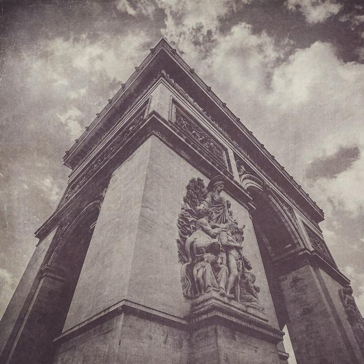 SALE - Arc de Triomphe Black & White Photograph - Print