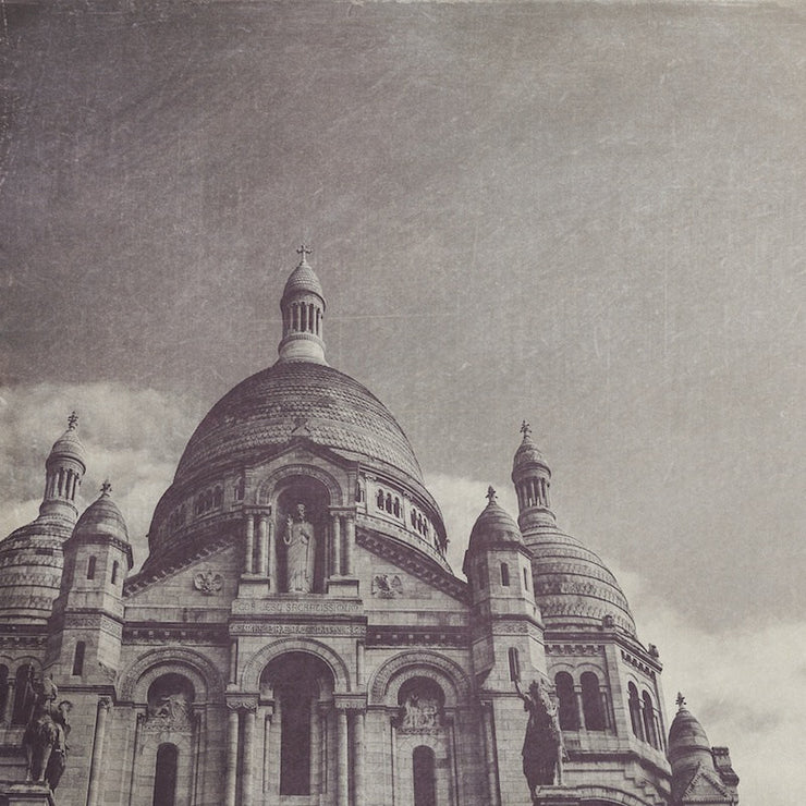 Sacre Coeur Black & White Photograph