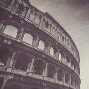 Colosseum Black & White Photograph