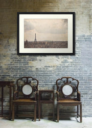 Eiffel Tower Paris Cityscape Photograph