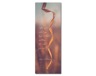 Bookmark - It's What You See