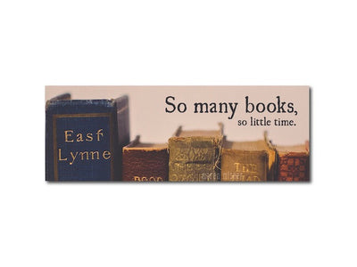 Bookmark - So Many Books So Little Time