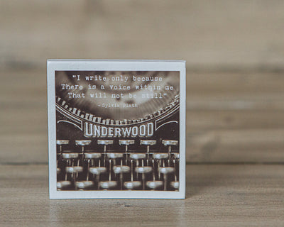 Magnet | Vintage Typewriter Quote